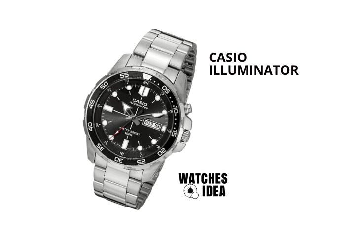 Casio Super Illuminator Diver Analog watch