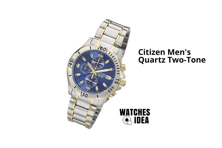 Citizen Men's Quartz Two-Tone