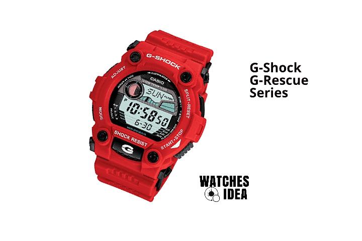 G-Shock G-Rescue Series