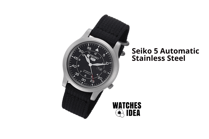 Seiko Men Automatic 5 SNK809 Watch